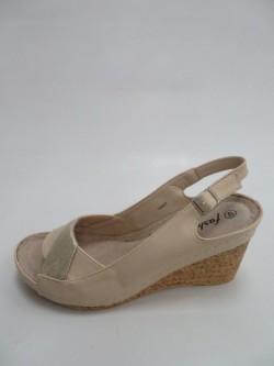 sandały damskie 7AA205 BEI